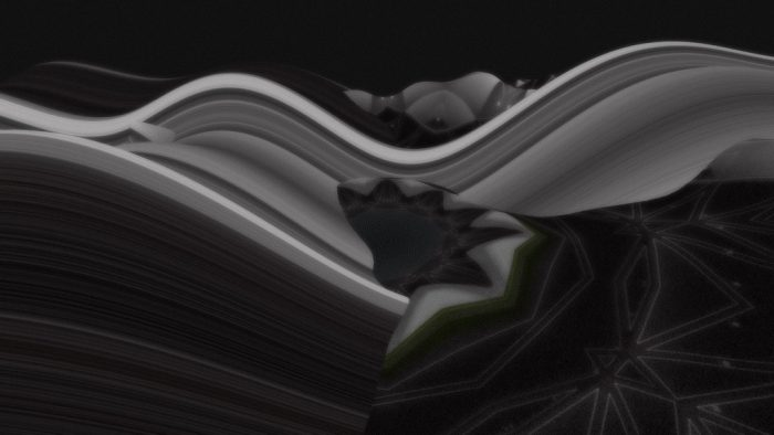 Joshua Davis - Generative Art Wallpaper - Grays That Look Like Silk