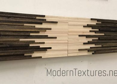 Dark and light wood art by modern textures