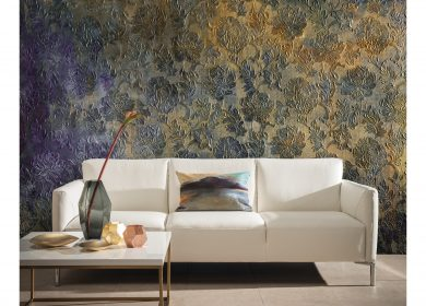 Lincrusta's Aphrodite wall coverings